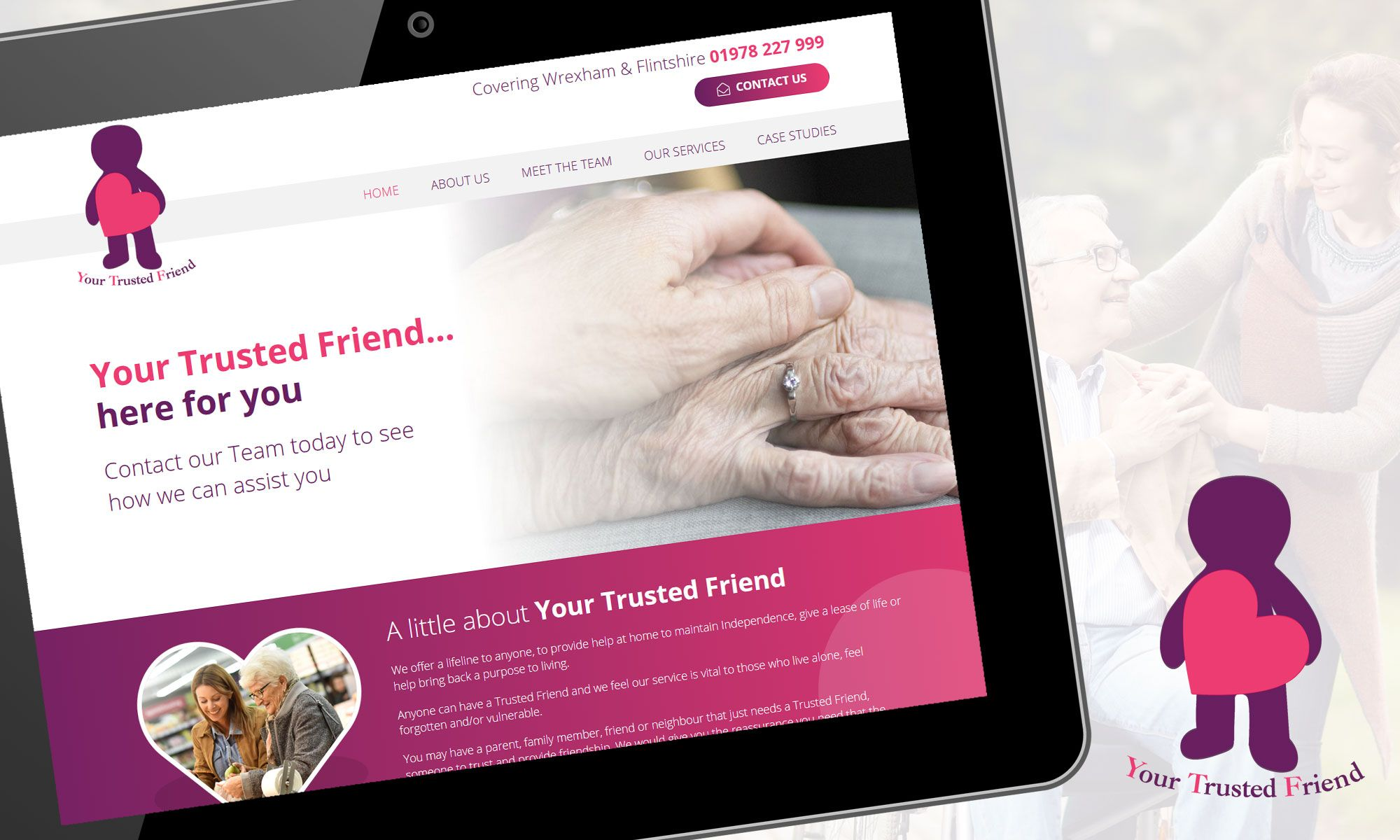 Your Trusted Friend website